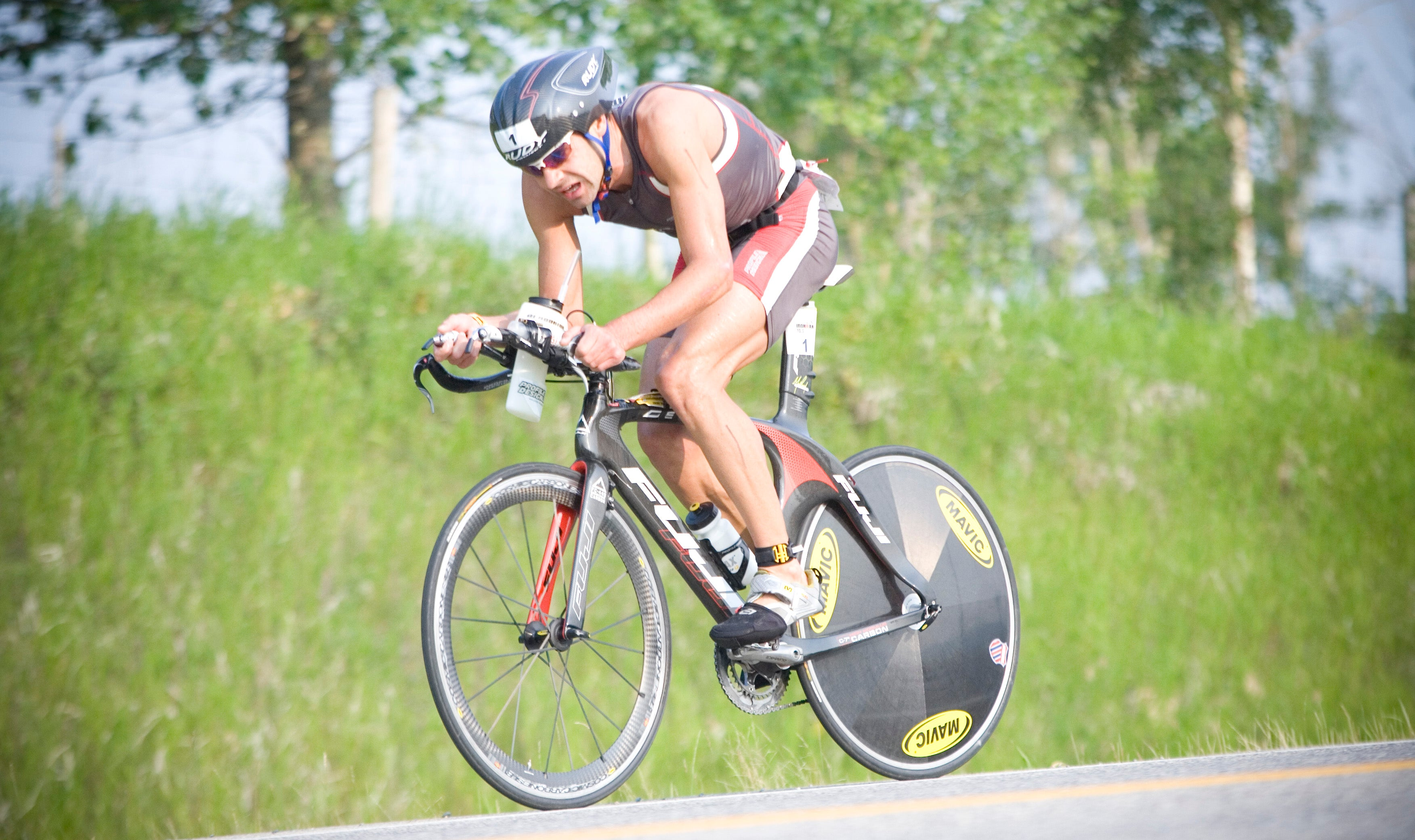 A balanced arsenal of swim, bike and run speed netted O'Donnell his second 70.3 win of the season.