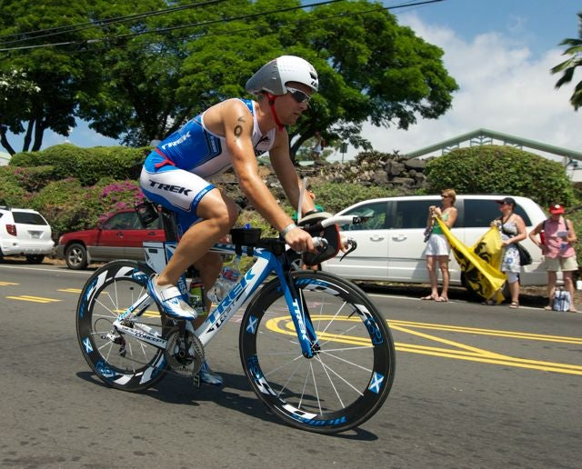 Fraser Cartmell is coming off of a tough race in Kona.