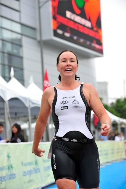 McLarty finished second at the L.A. Tri. Photo: Rich Cruse