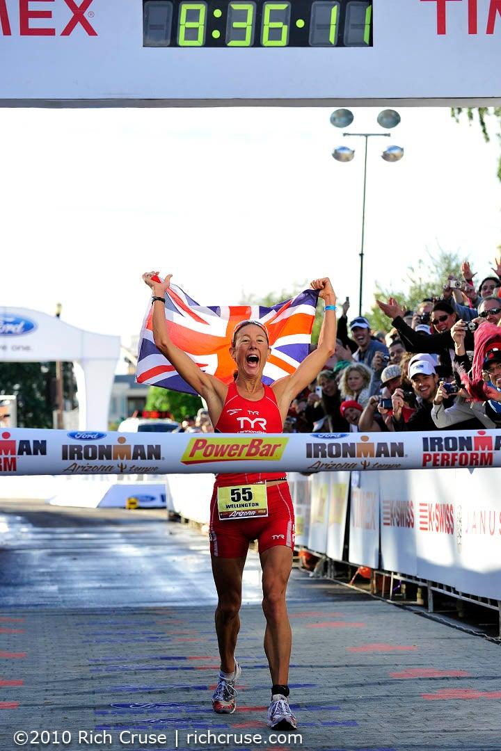 Chris Wellington sets a new Ironman world record!