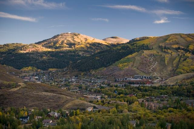 The Park City area sits at an elevation of aorund 7,000 feet.