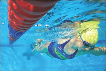 Improving technique is key to becoming a better swimmer. Photo: Nils Nilsen