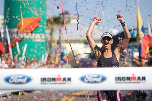 Zeiger won the 2008 Ironman 70.3 world championship title. Photo: Robert Murphy