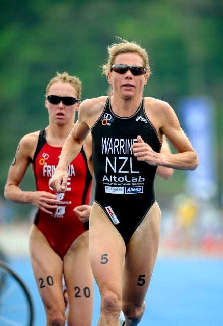 Warriner focused on ITU before making the jump up to the 70.3 and Ironman distances. Photo: Triathlon.org
