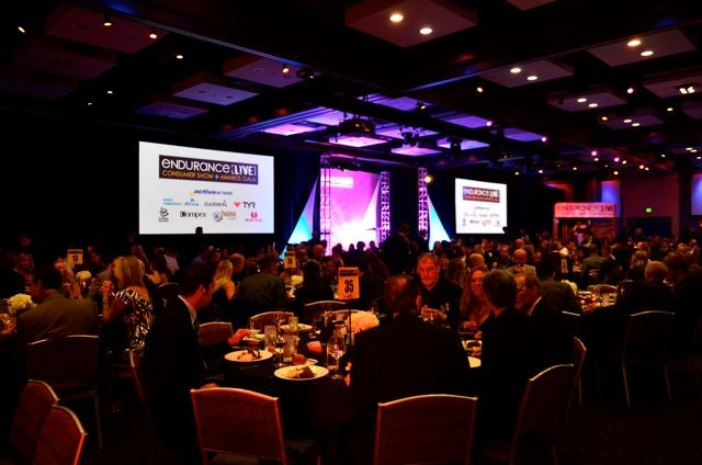 Several endurance athletes were honored at the 2011 Endurance LIVE Awards Gala. Photo: Rich Cruse