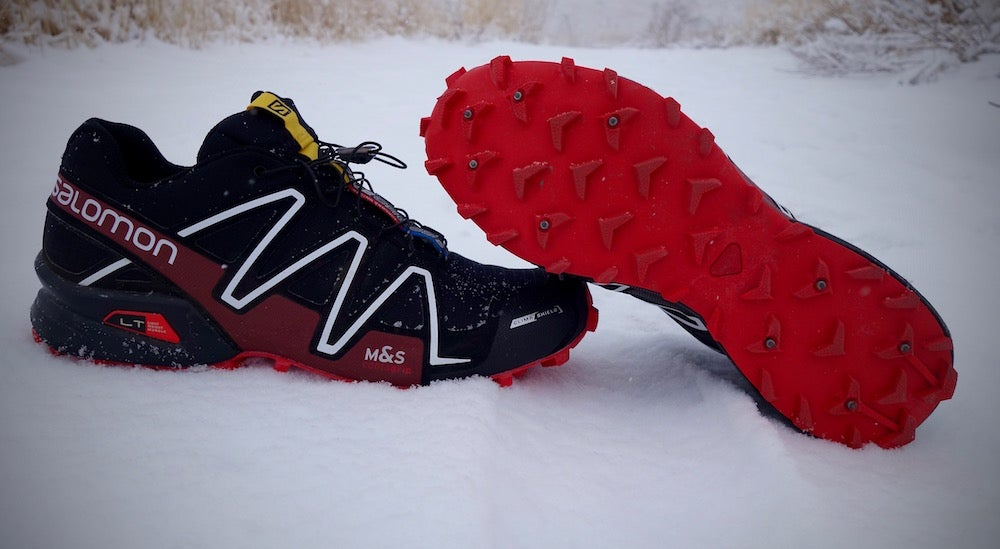 snow spikes for running shoes