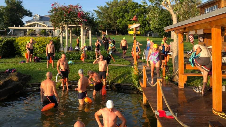 Open-Water Group Swims