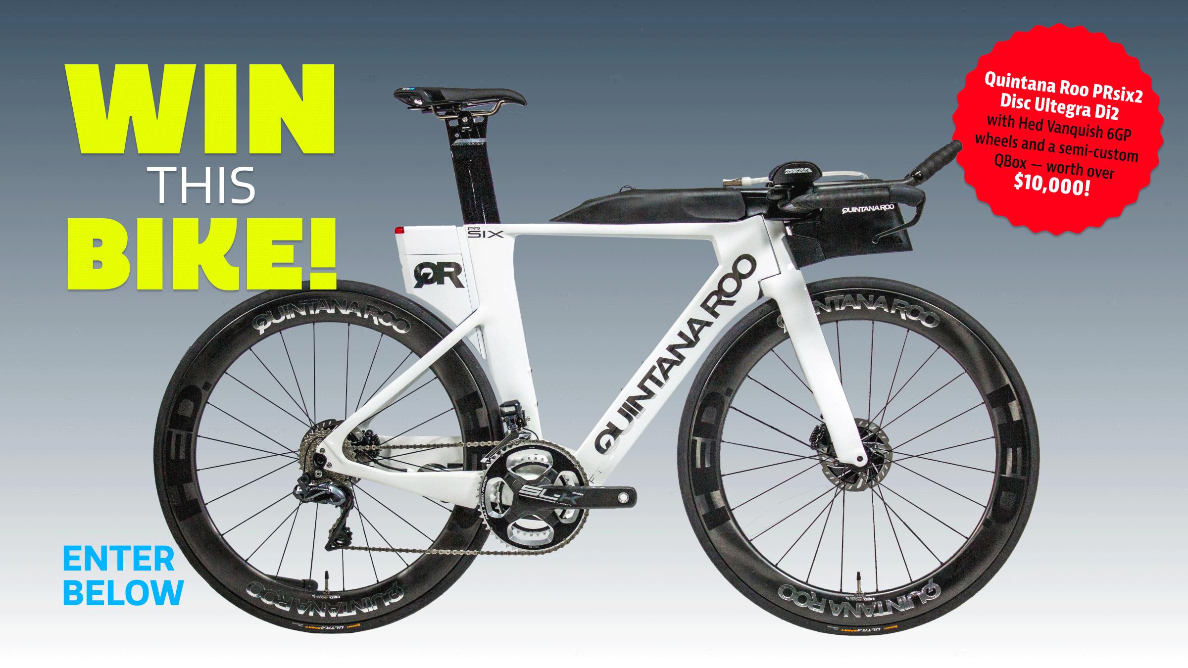 Triathlete Win This Bike! Contest Quintana Roo PRsix2
