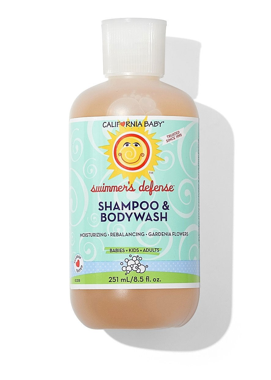 best combo shampoo soap for swimmers