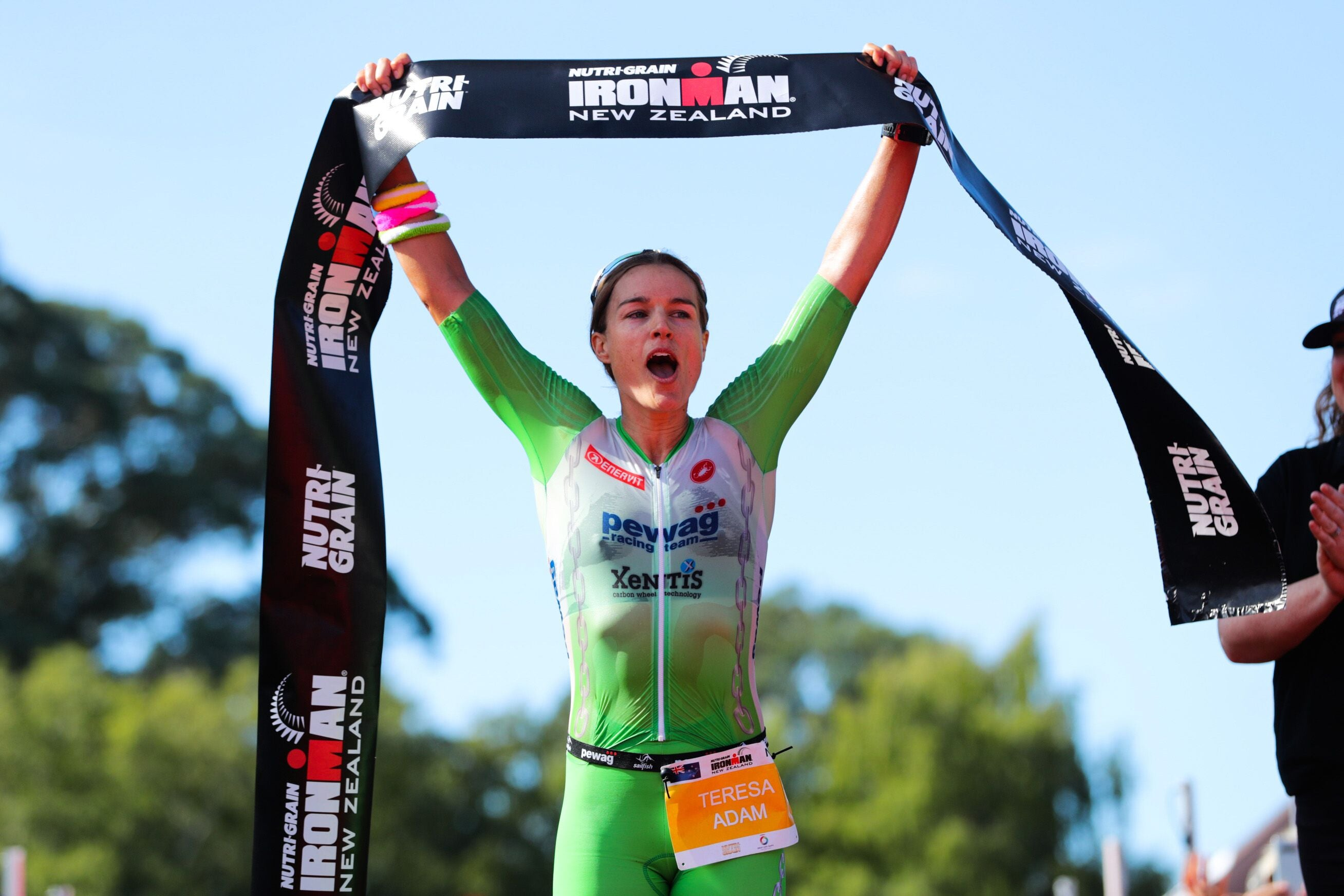 teresa adam win Ironman New Zealand