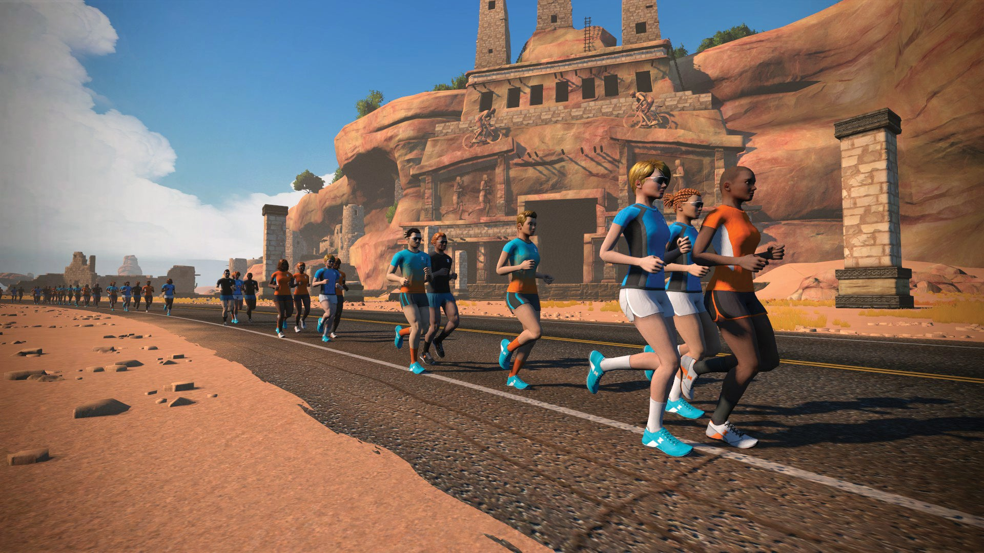 Zwift Virtual Runners
