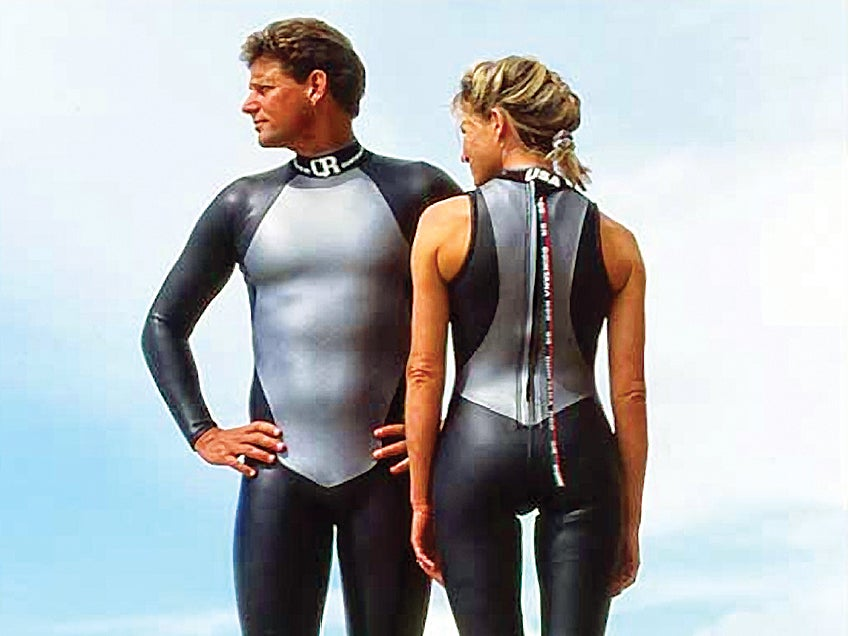 Swimming Wetsuit Design
