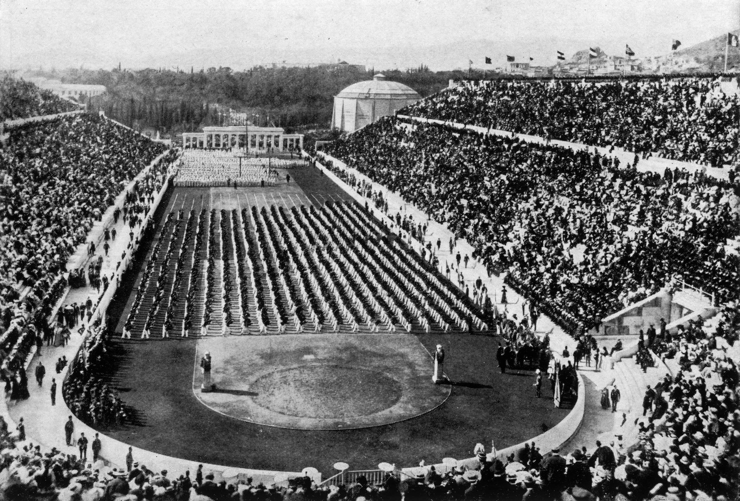 1896 Olympics in Athens