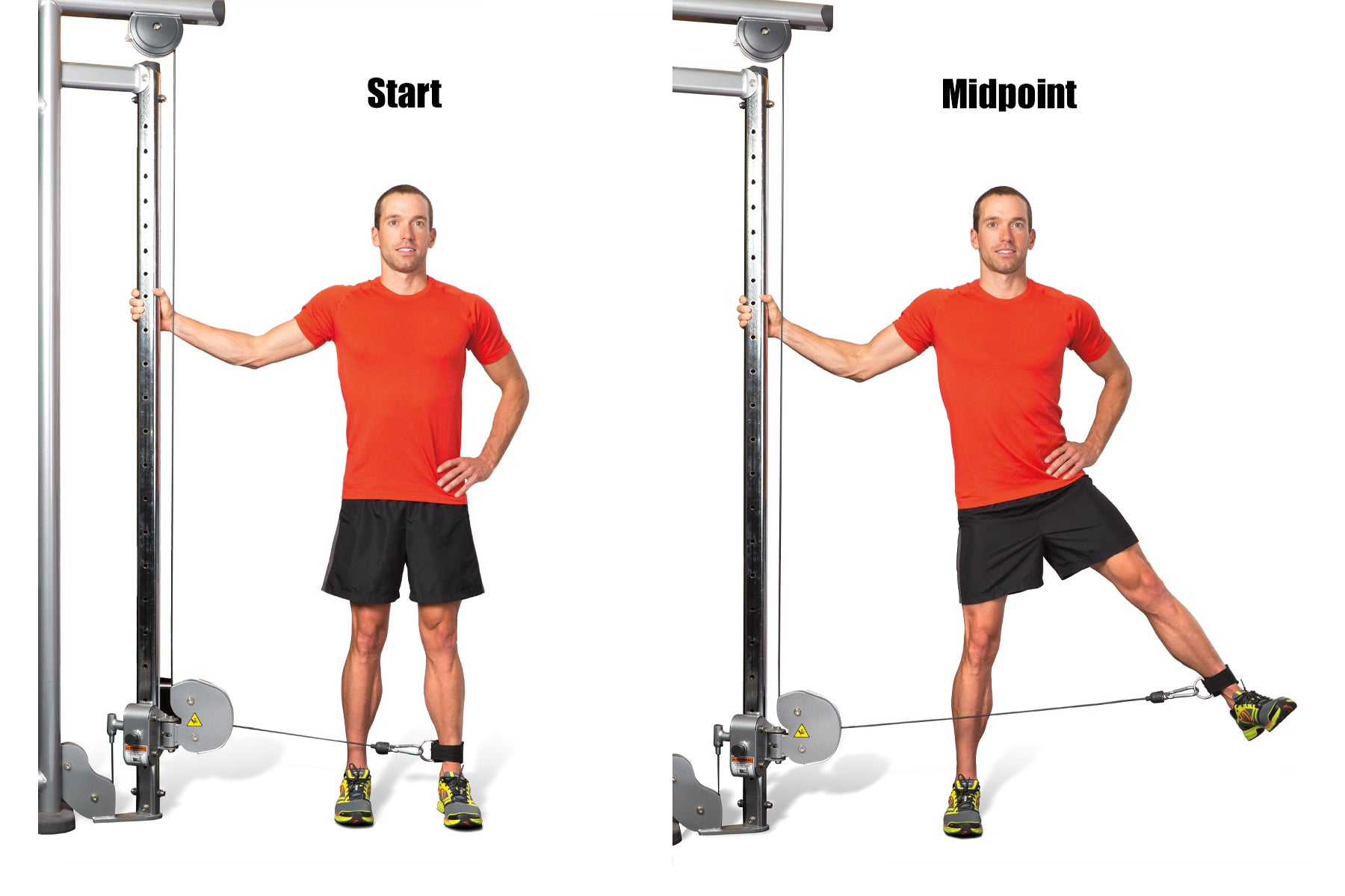 Swimming Strength Training Cable Lateral Lift
