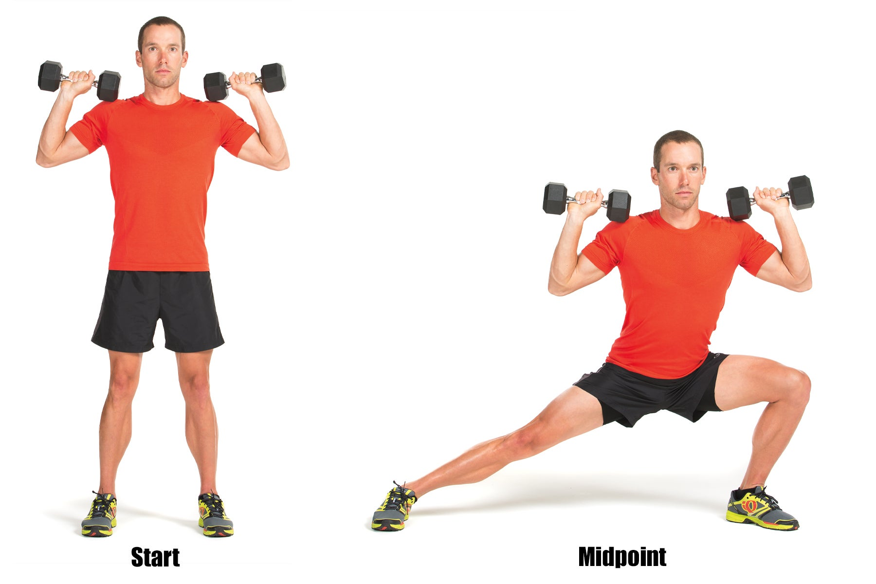 Swimming Strength Training Lateral Lunge