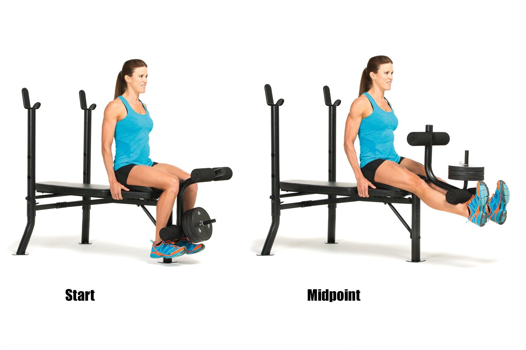 Swimming Strength Training Leg Extension
