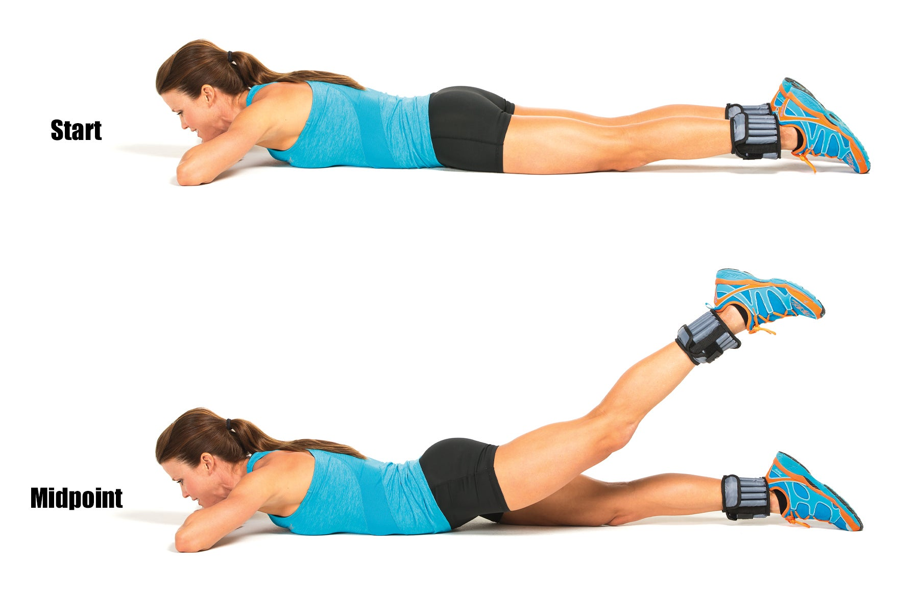 Swimming Strength Training Prone Extension