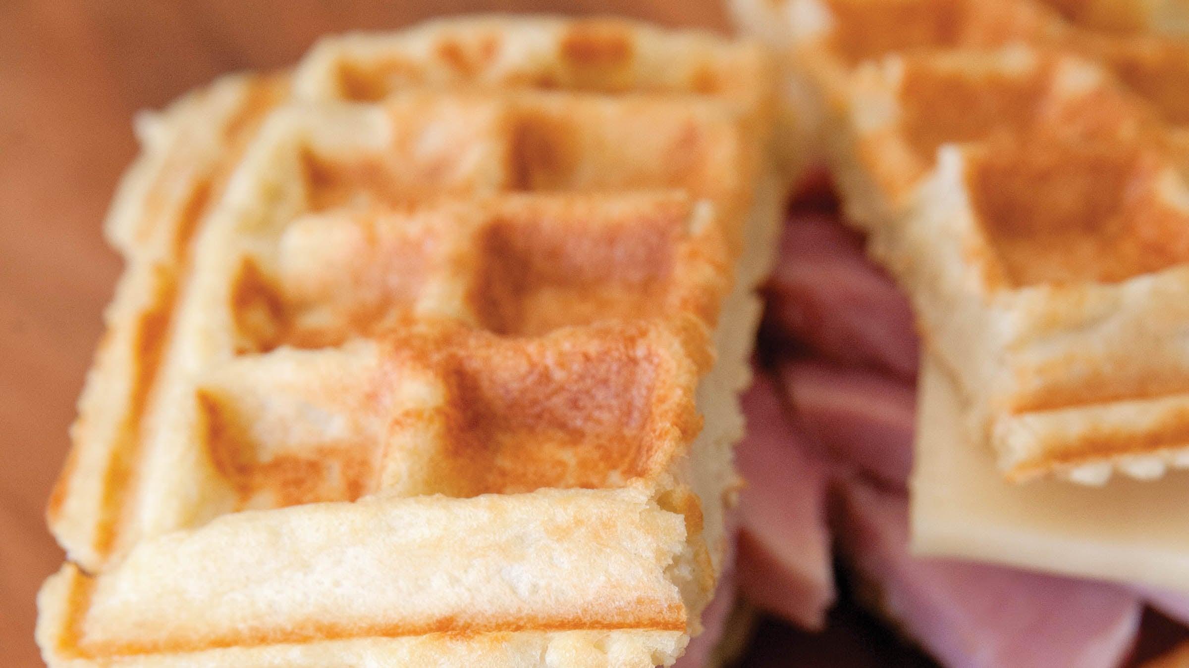Feed Zone Portables: Cheesy Potato Waffles – Triathlete