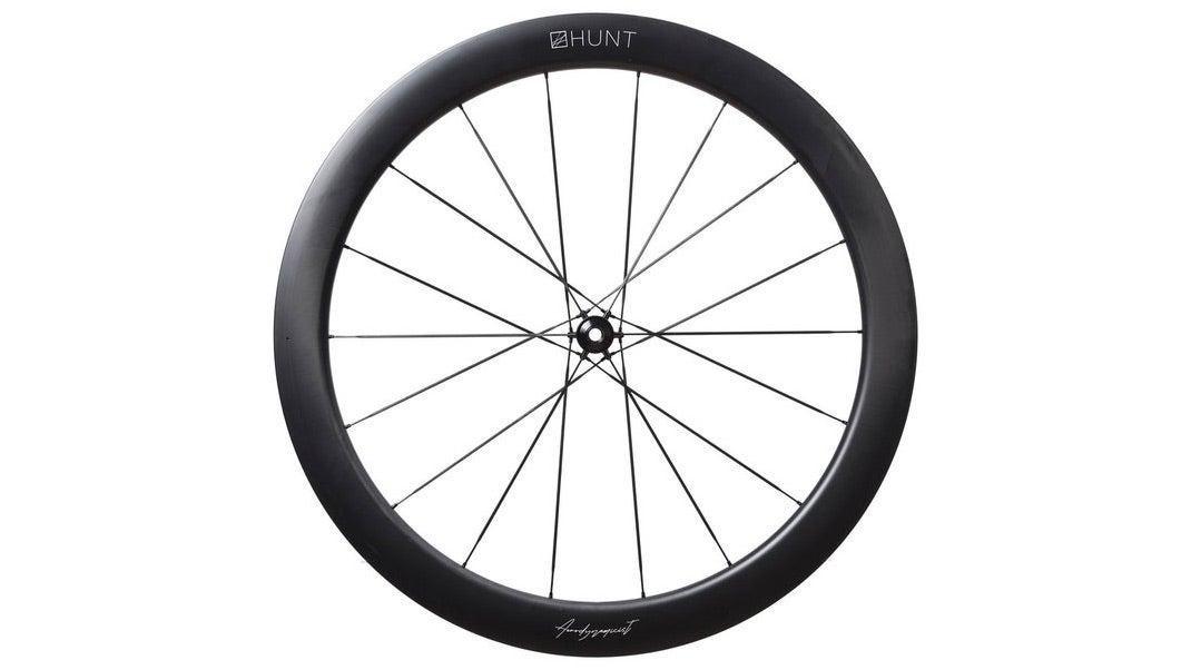 Hunt 54 UD Carbon Spoke Disc Wheel