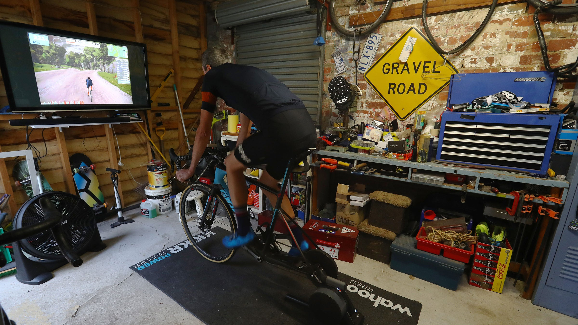 Indoor Training – Triathlete