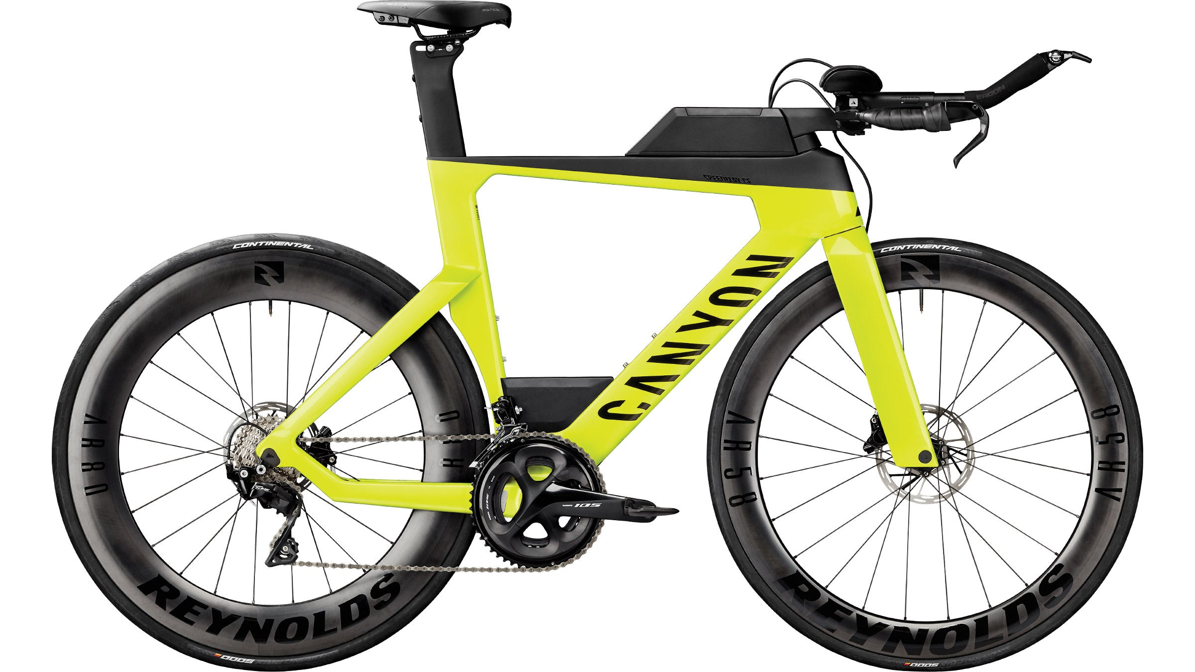 The Canyon Speedmax CF 7 Disc is one of the best triathlon bikes of 2021 and is available for $3,800.