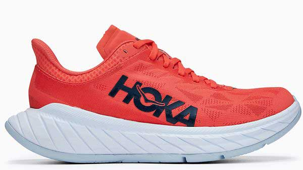 The HOKA Carbon X 2, a great new race shoe to consider when it's time to replace running shoes.