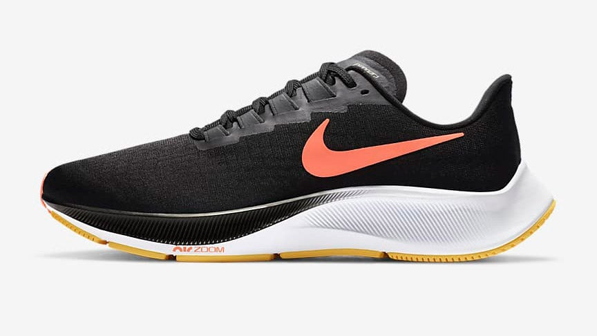 Black and white Nike Air Zoom Pegasus