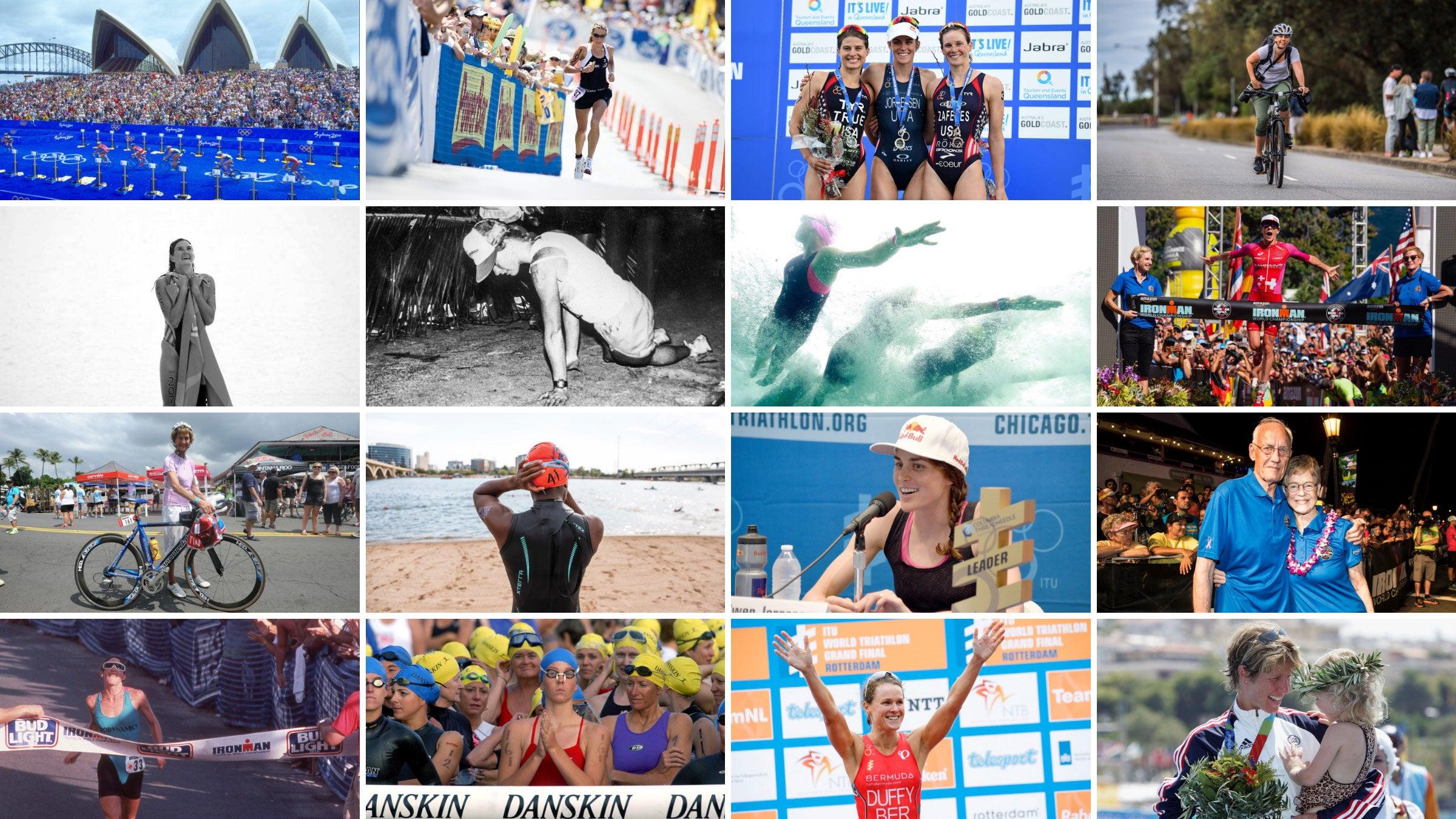 A Brief History of Women in Triathlon – Triathlete