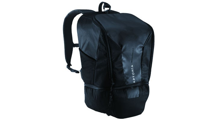 This affordable option from Decathlon makes our list for best transition bags.