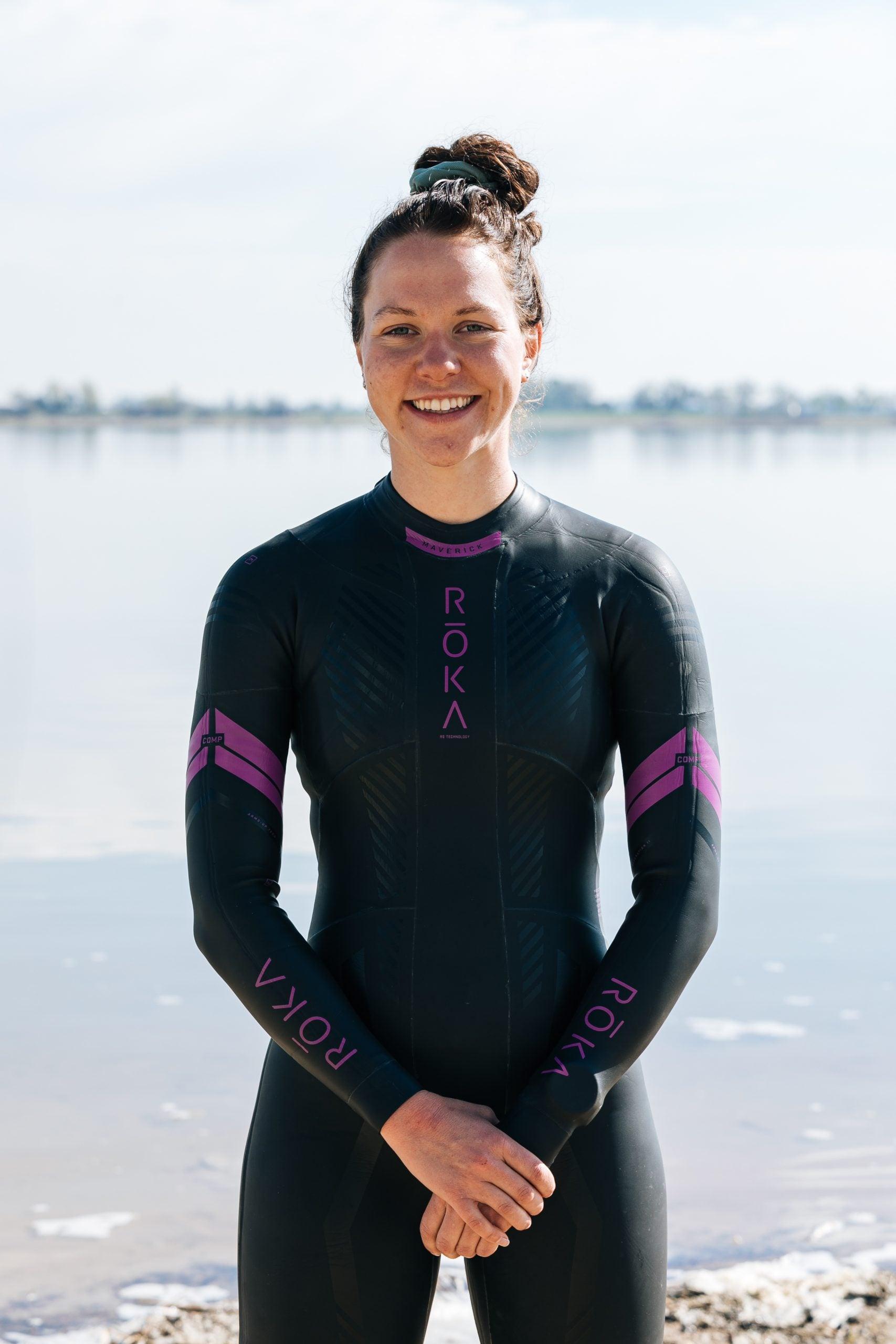 Maren York, CU Triathlon team