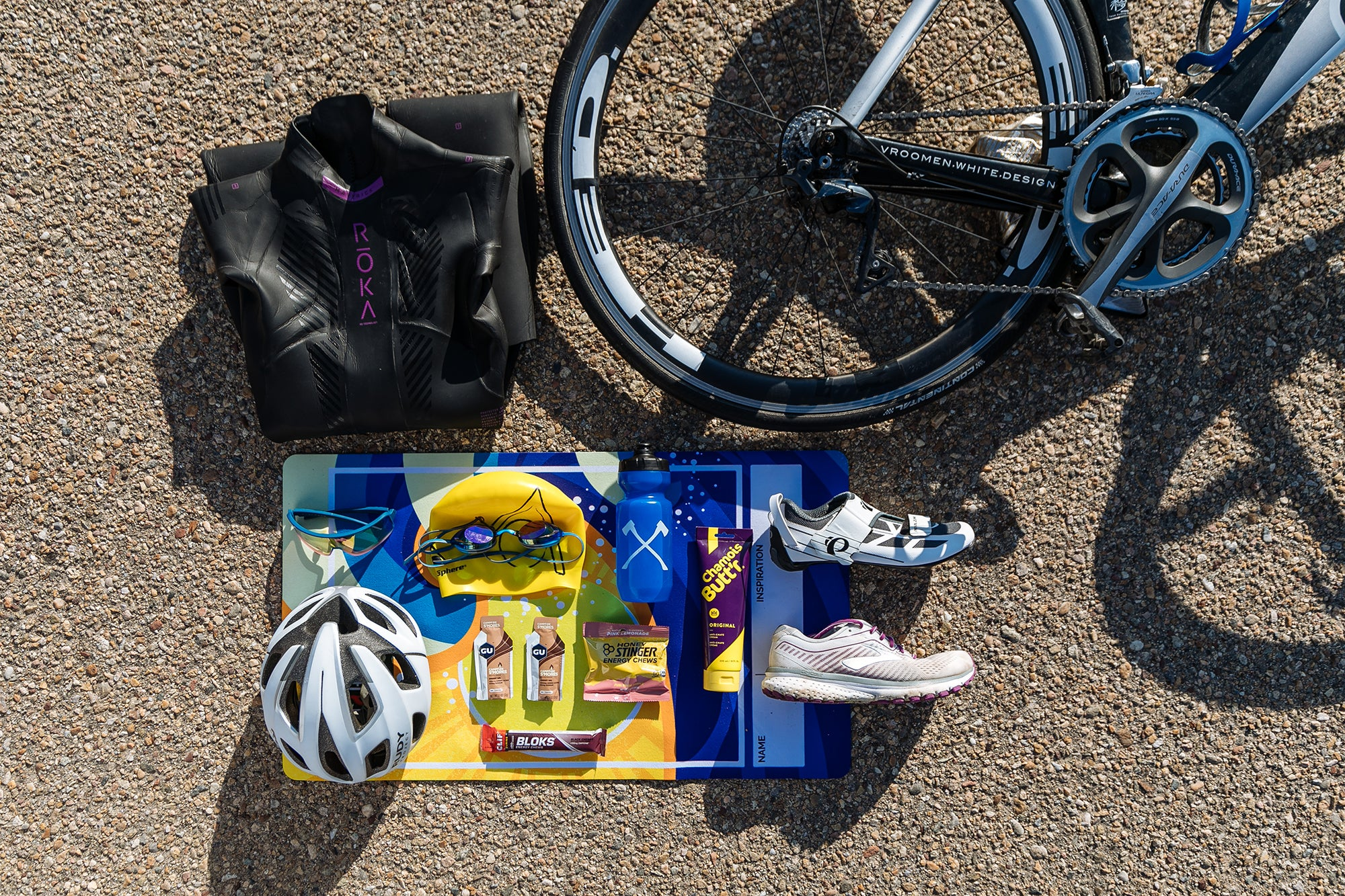 10 Weeks to Your Best 70.3 gear prep