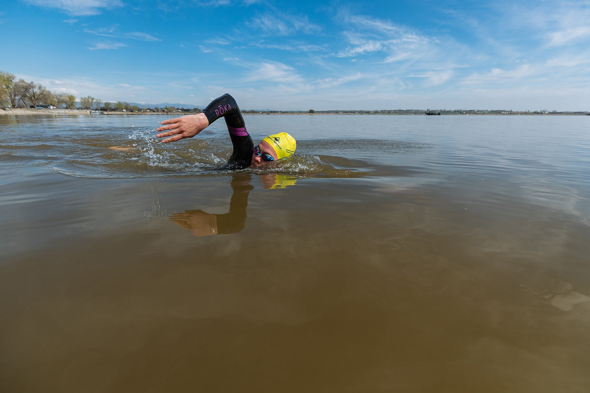 10 Weeks to Your Best 70.3 open-water swimming