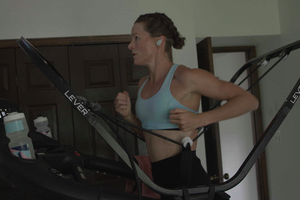 Video: A Quick Workout with Flora Duffy
