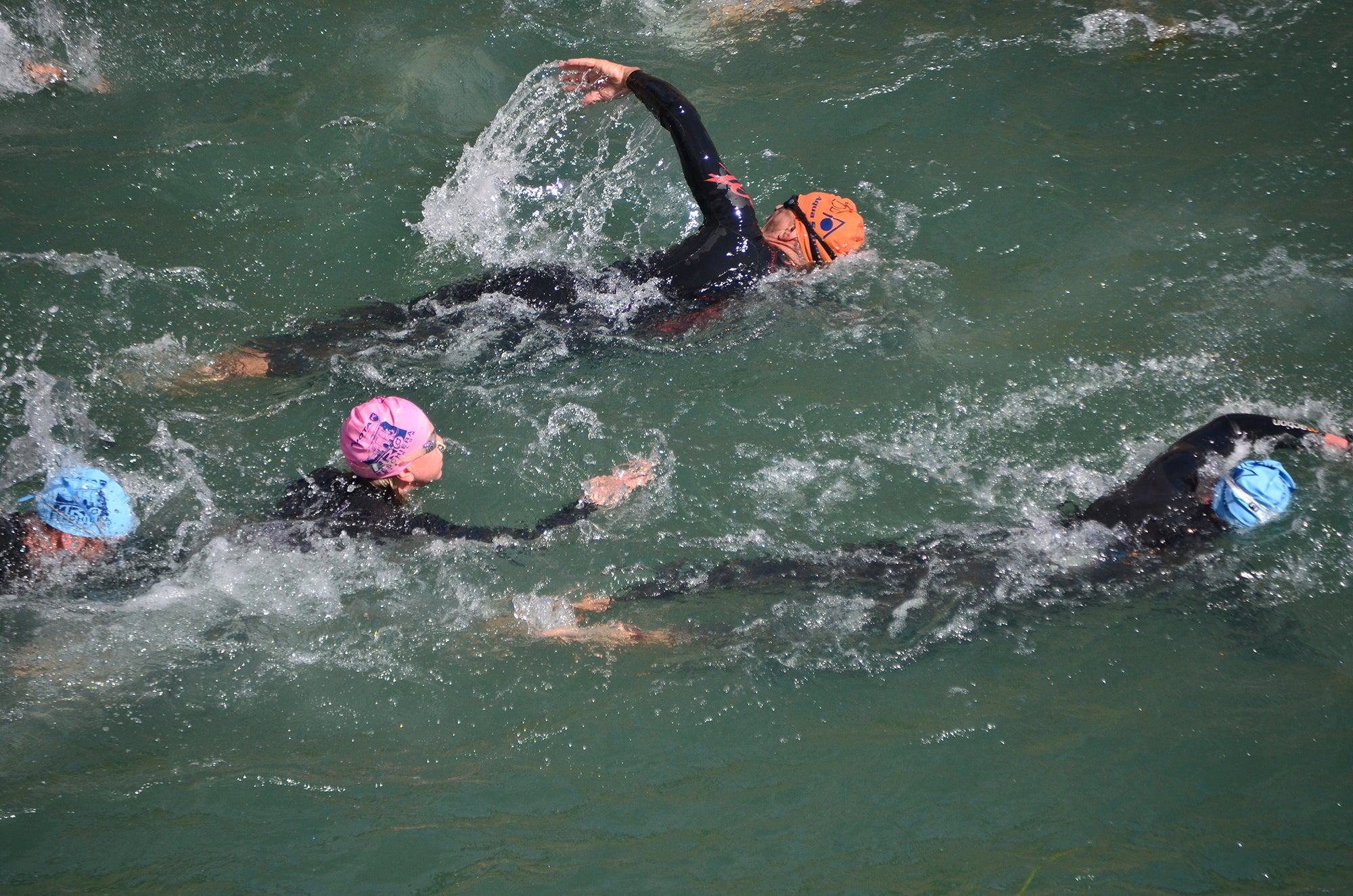 10 Weeks to Your Best 70.3 swim drafting